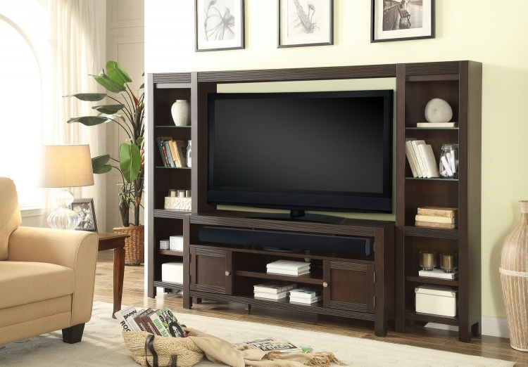 Newport 4Pc Wall Unit