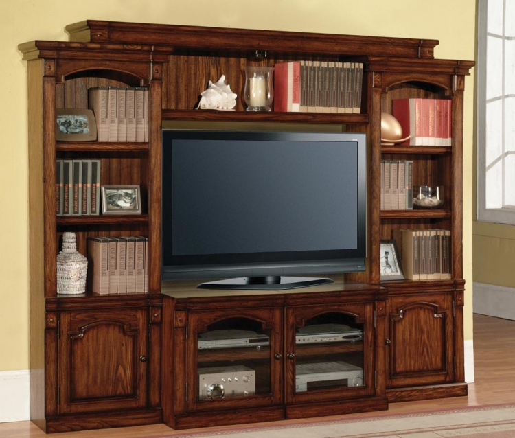 Premier Aspen 4 Piece Wall Unit - Parker House