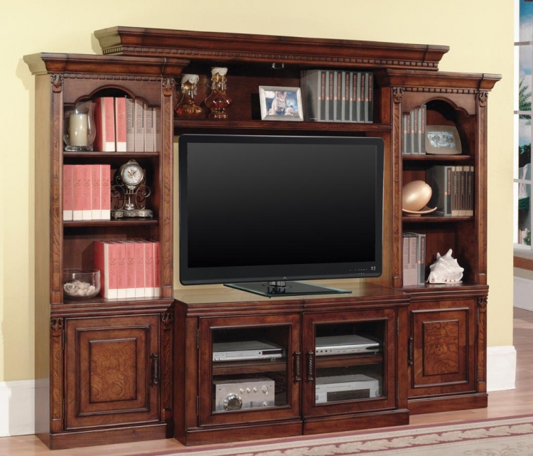 Premier Athens 4 Piece Wall Unit - Parker House
