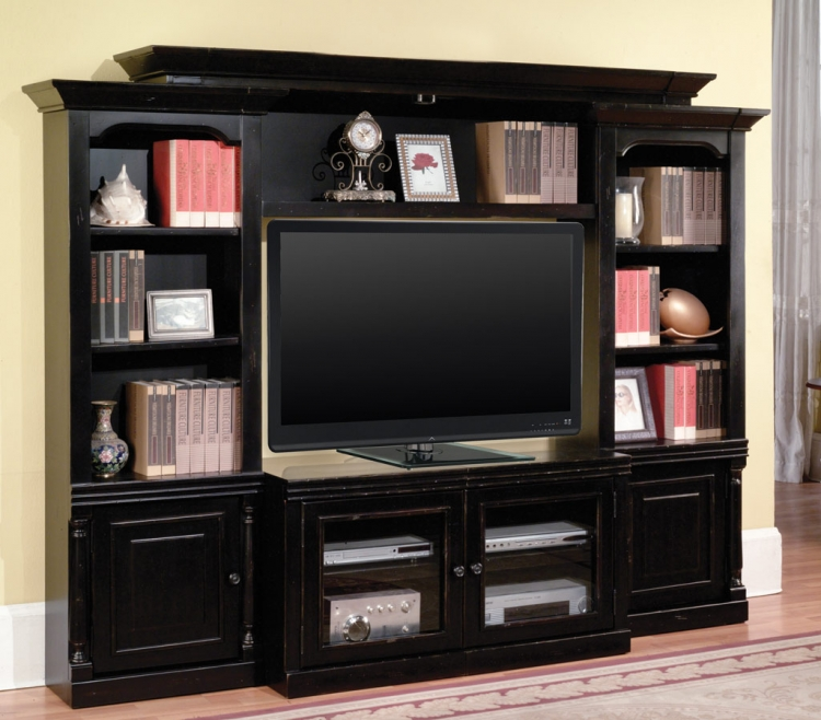 Premier Avelino 4 Piece Wall Unit - Parker House
