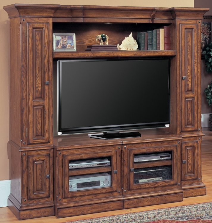 Premiere Denver 4pc Wall Unit - Parker House