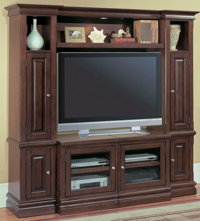 Premier Sterling 4pc Wall Unit - Parker House
