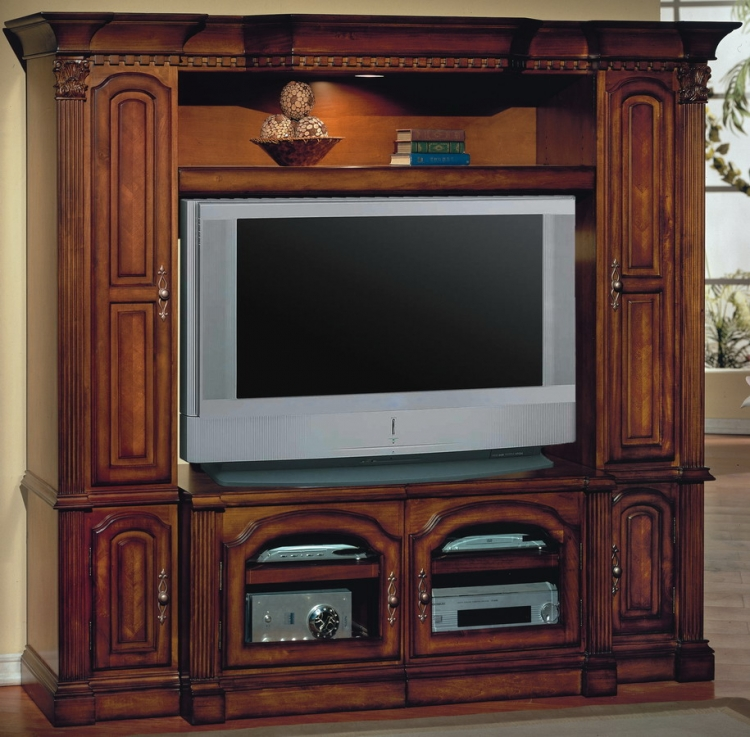 Premier Turino 4pc Wall Unit - Parker House