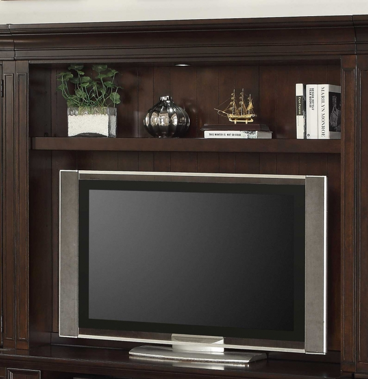 Stanford 60in Bookcase TV Hutch