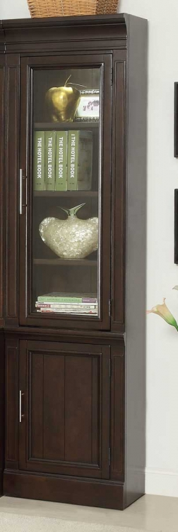 Stanford 22in Glass Door Cabinet