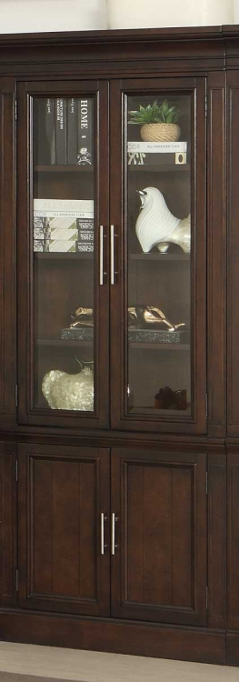 Stanford 32in Glass Door Cabinet