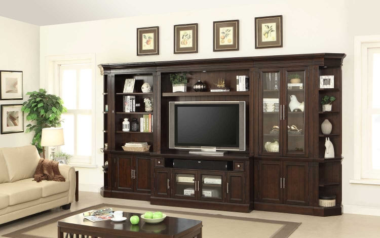 Stanford Large Entertainment Wall Unit