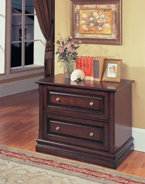 Sterling 2 Drawer File Cabinet - Parker House