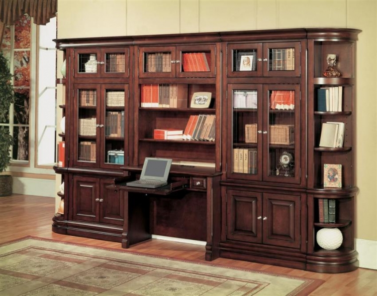 Sterling Library Bookcase Set A - Parker House