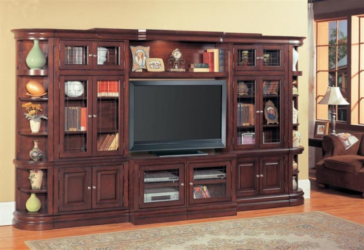 Sterling Library Entertainment Center Set B