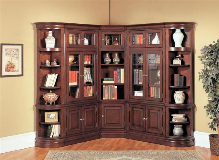 Sterling Library Bookcase Set C - Parker House