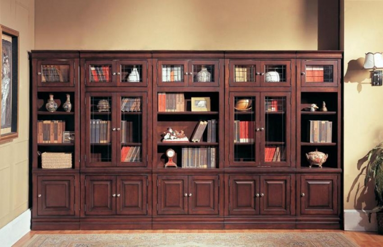 Sterling Library Bookcase Set D - Parker House