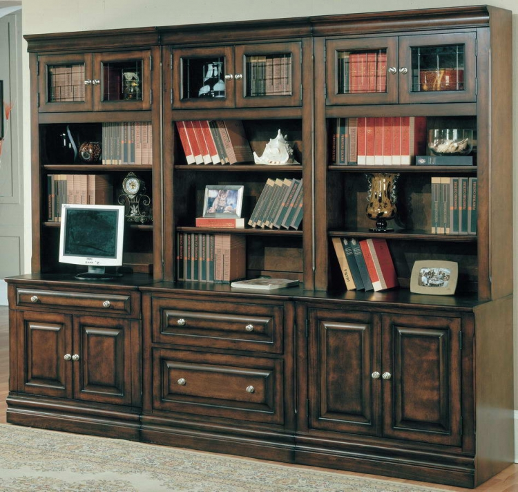 Sterling Home Office Suite 6pc Wall System - Parker House