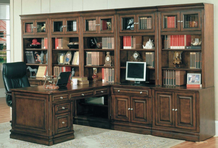 Sterling Home Office Suite Full Wall System