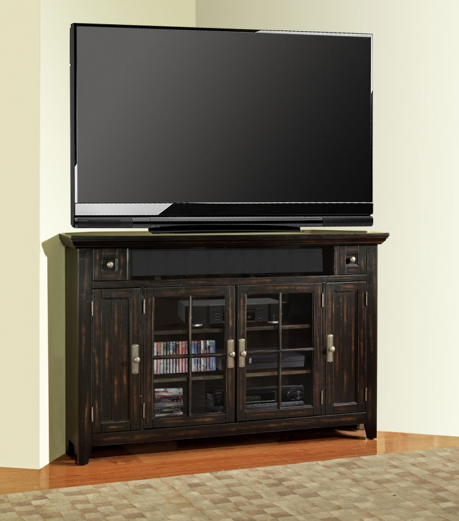 Tahoe 62in Corner TV Console