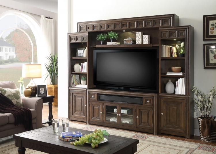Tempo 62in Console Entertainment TV Wall Unit