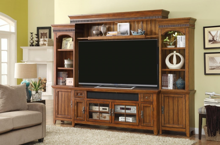 Terrace 72-inch Console Ent. Wall