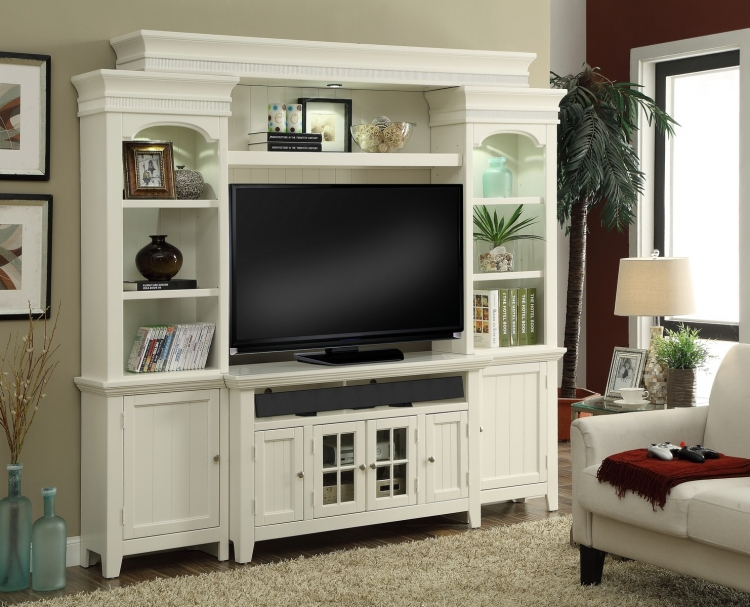 Tidewater 50in Console Entertainment TV Wall Unit