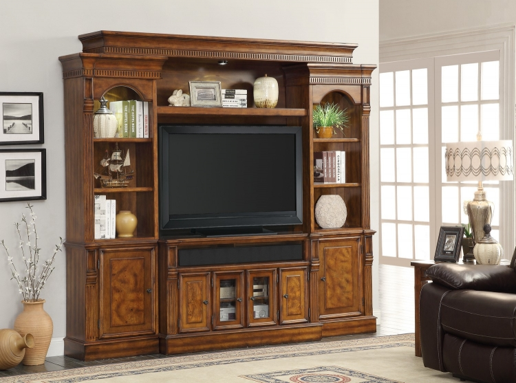 Toscano 50-inch Console Ent. Wall