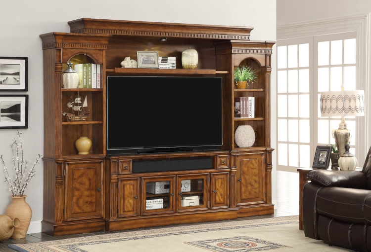 Toscano 62-inch Console Ent. Wall
