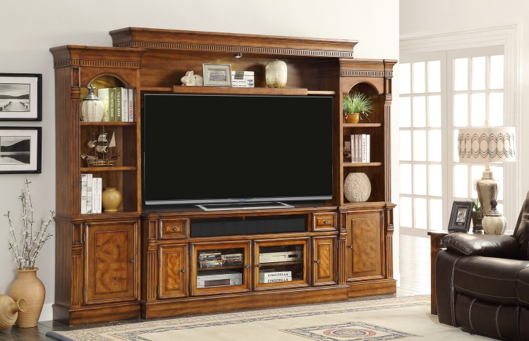 Toscano 72-inch Console Ent. Wall