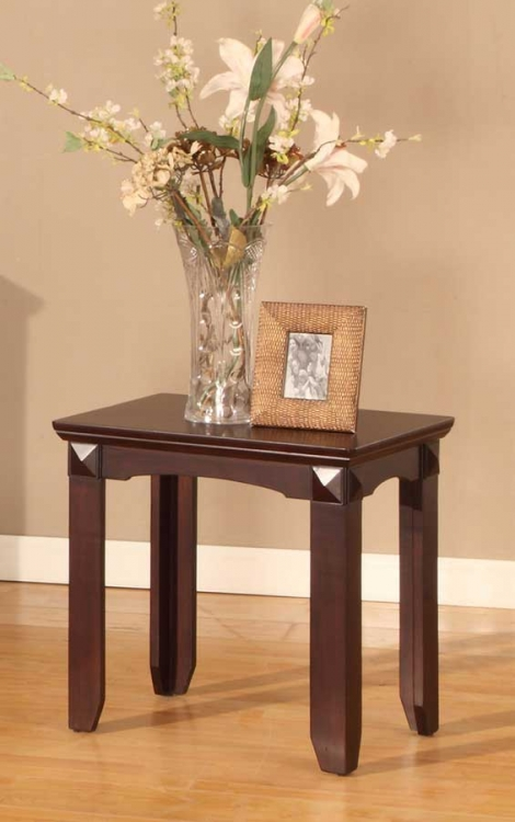Auburn Chairside Table - Parker House