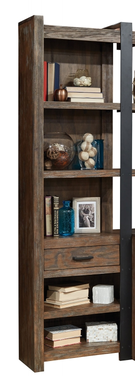 Tribeca Pier Cabinets-Pair - Weathered Pine