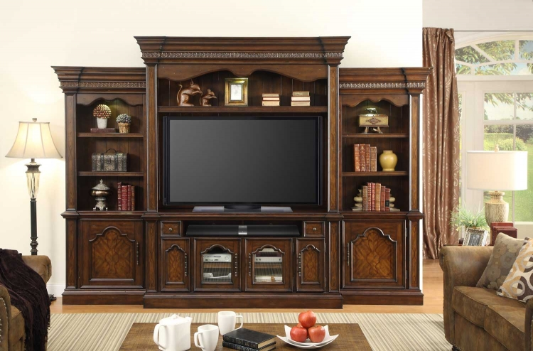 Vellano 4 Pc Entertainment Wall Unit
