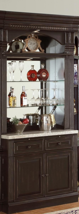 Venezia Bar Hutch and Base