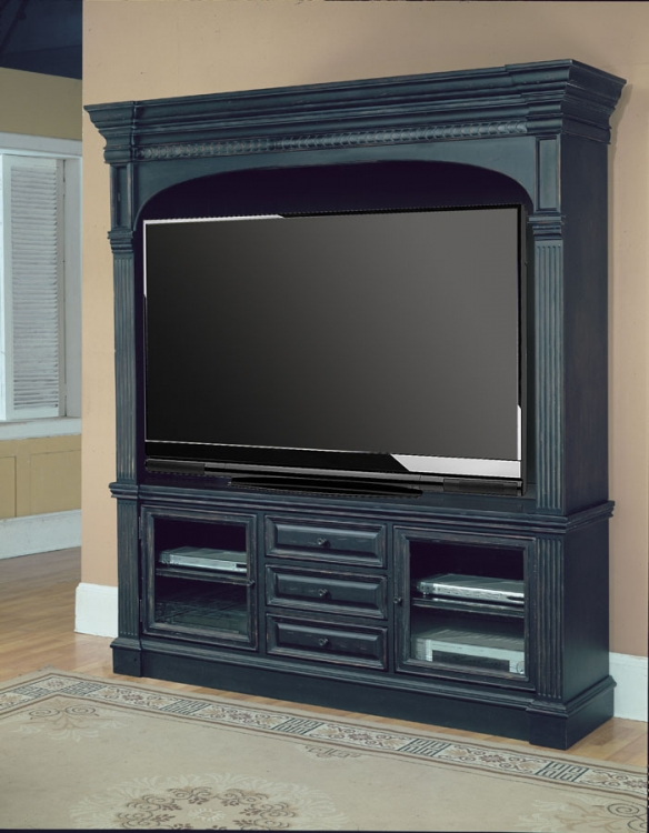 Venezia 3Pc Entertainment Center with 77in TV Console - Parker House
