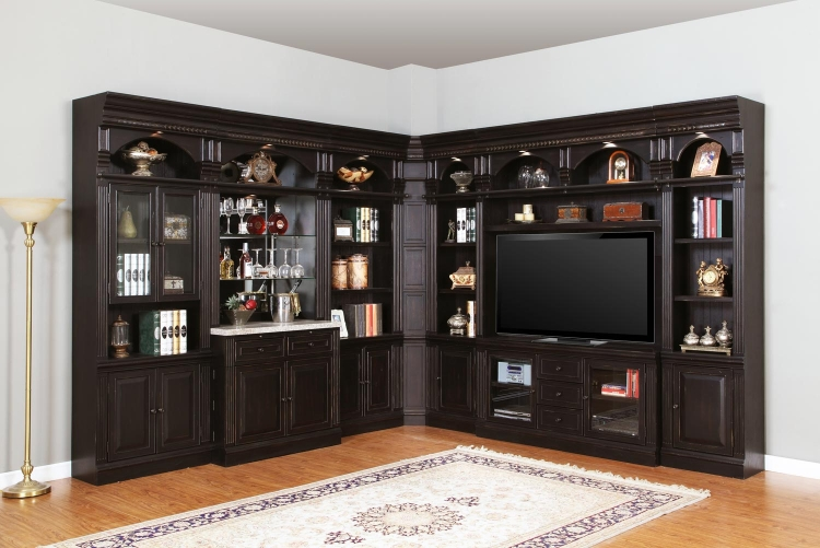 Venezia Library Wall Bar Set