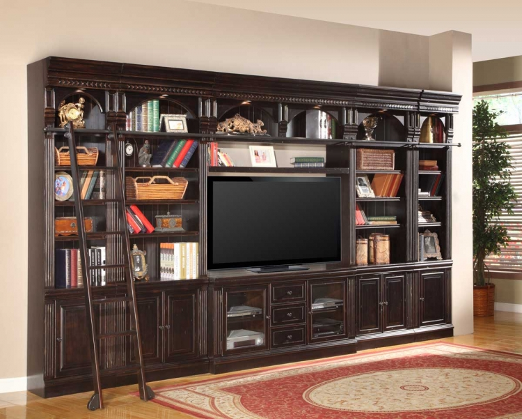 Venezia 60in Library Entertainment Wall Unit - Parker House