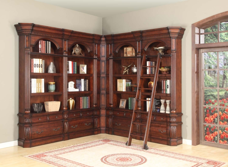 Versailles Museum Library Bookcase Set 3