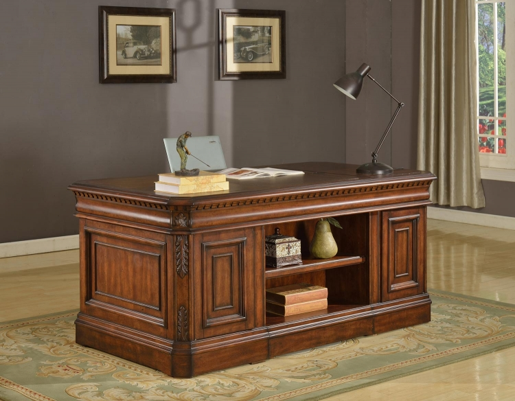 Versailles Double Pedestal Executive Desk