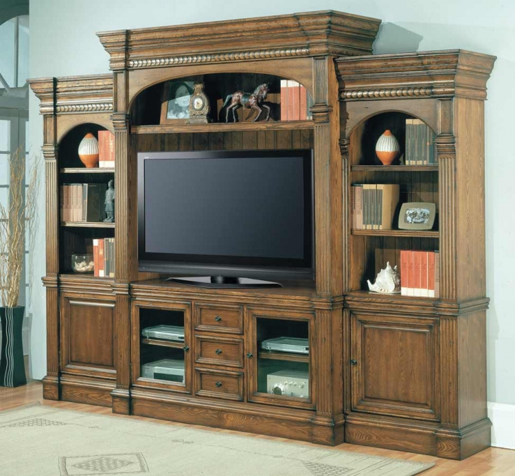 Yorktown 5 Piece Wall Unit - Parker House