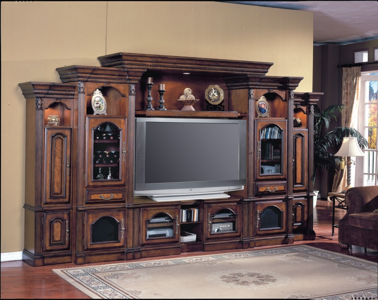 Portofino 6Pc Entertainment Center-Parker House