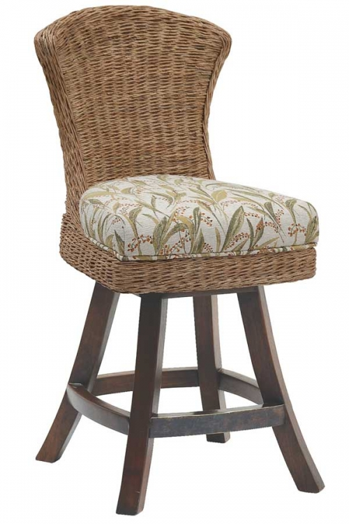 Bahama Breeze Swivel Counter Stool