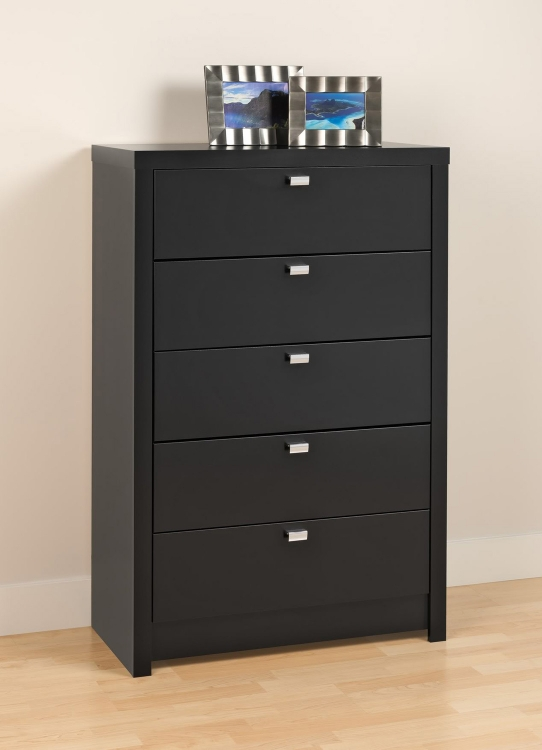Series 9 5-Drawer Chest - Black