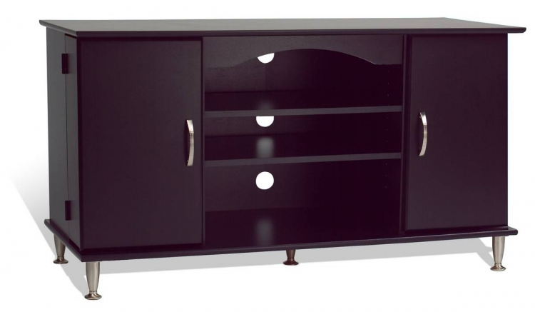 Black 42in Plasma TV Console - Prepac