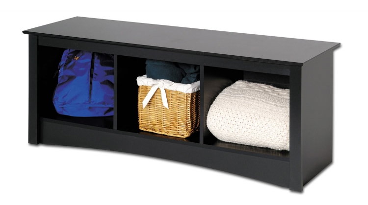 Sonoma Cubbie Bench - Black