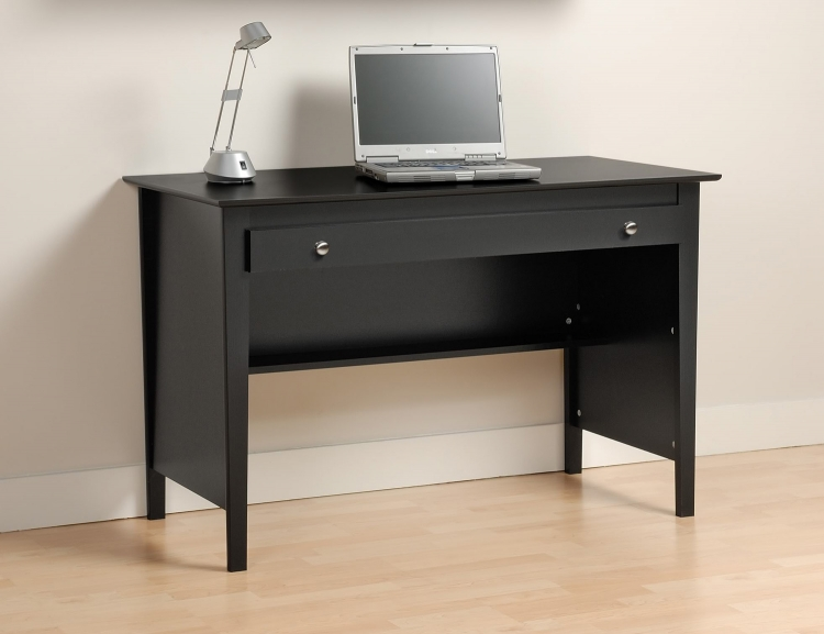 Contemporary Computer Desk - Black - Prepac