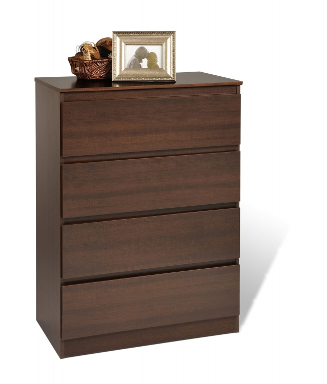 Avanti 4 Drawer Chest - Espresso