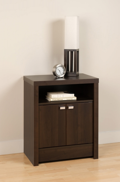 Series 9 2-Door Night Stand - Espresso