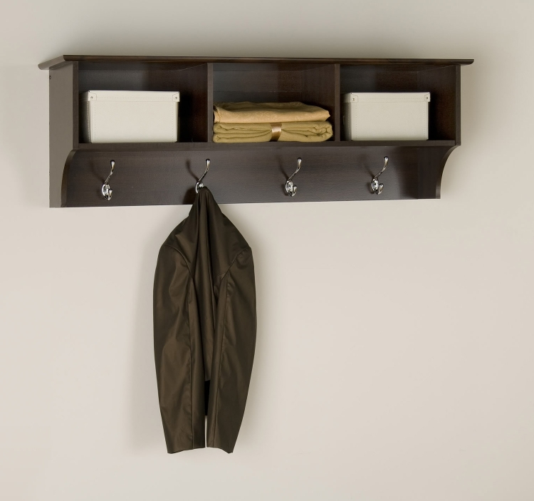 Sonoma Entryway Shelf - Espresso