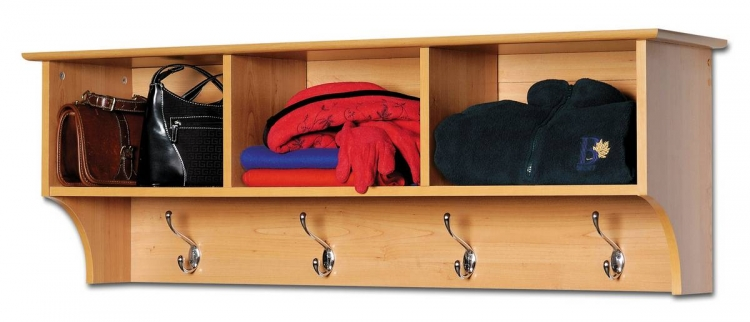 Sonoma Entryway Cubbie Shelf - Maple