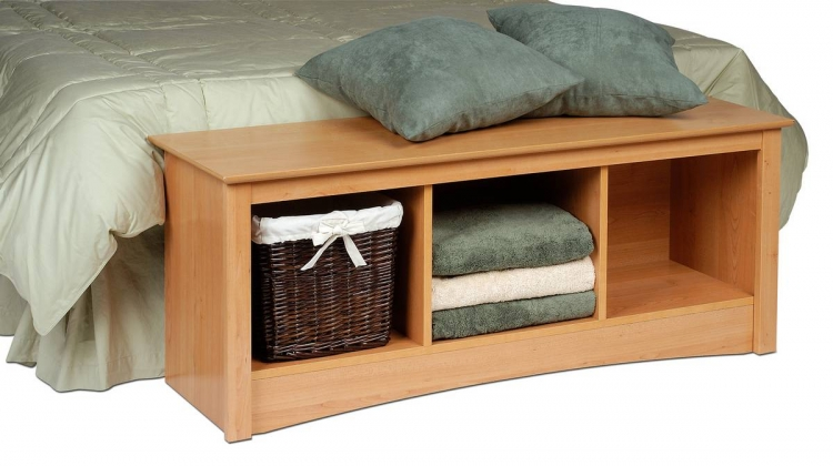 Sonoma Cubbie Bench - Maple - Prepac
