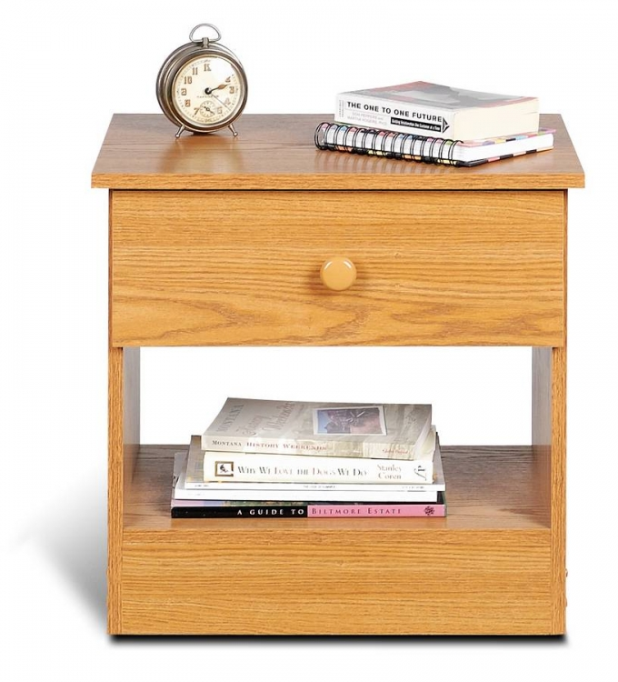 Oak Night Stand