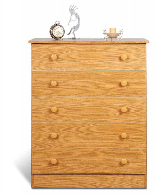 Oak Edenvale 4 Drawer Chest