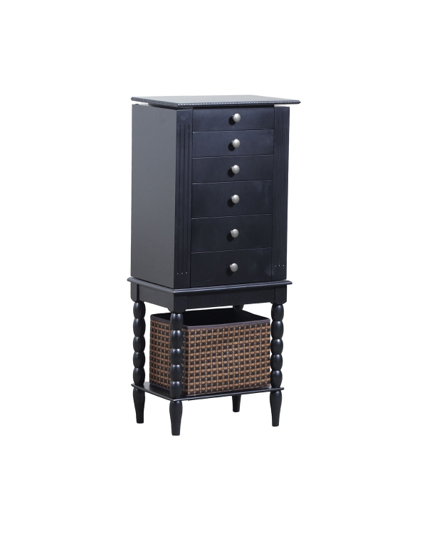 Alanis Jewelry Armoire - Black