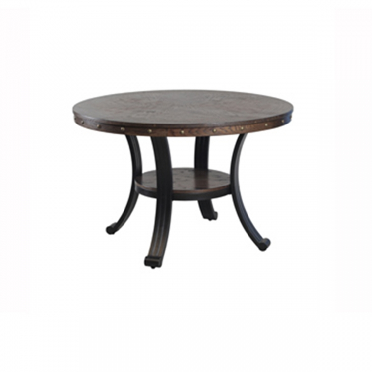 Franklin Dining Table - Rustic Umber